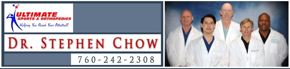 Sports Medicine - Apple Valley, CA - Dr Stephen Chow