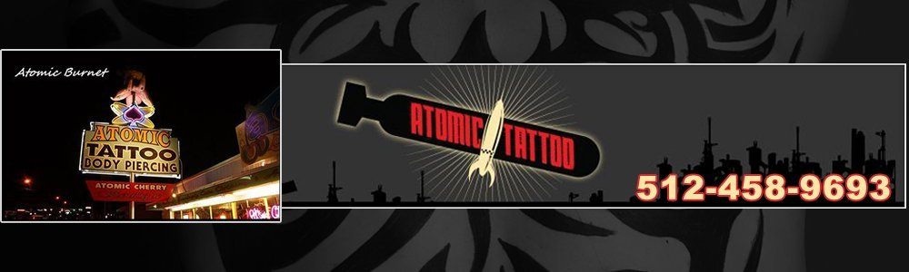 Tattoo Service - Austin, TX - Atomic Tattoo