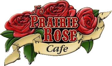 J's Prairie Rose Café - Logo