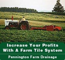 Excavating - Corunna, MI - Pennington Farm Drainage-Excavating
