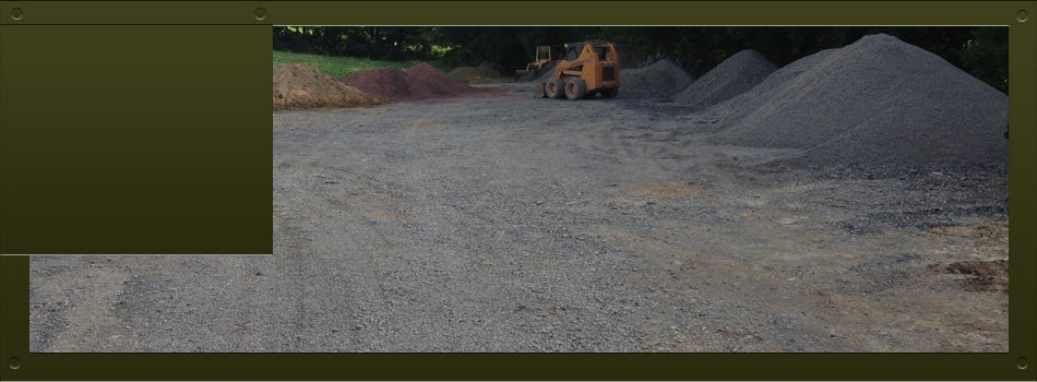 Crushed Stone Delivery : Crushed stone delivery watsontown pa hampe s