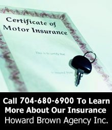 Auto Insurance - Salisbury,  NC - Howard Brown Agency Inc.