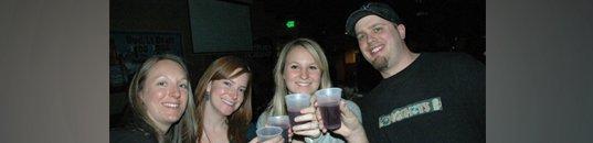 People enjoying drink