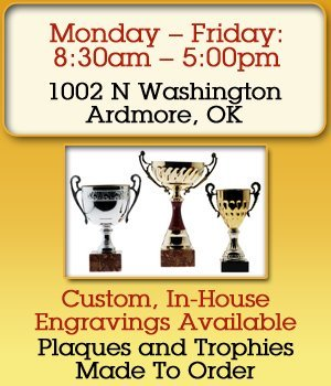 Award Service - Ardmore, OK - R and R Trophies