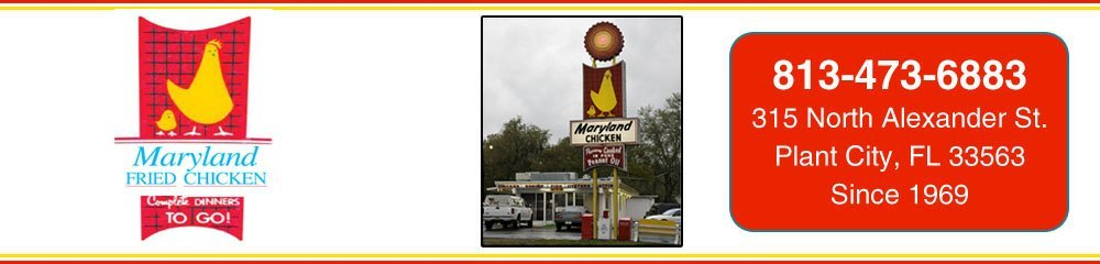 Fried Chicken - Plant City, FL - Maryland Fried Chicken