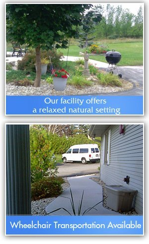 Retirement - Door County, WI - Hearthside - Our facility offers a relaxed natural setting