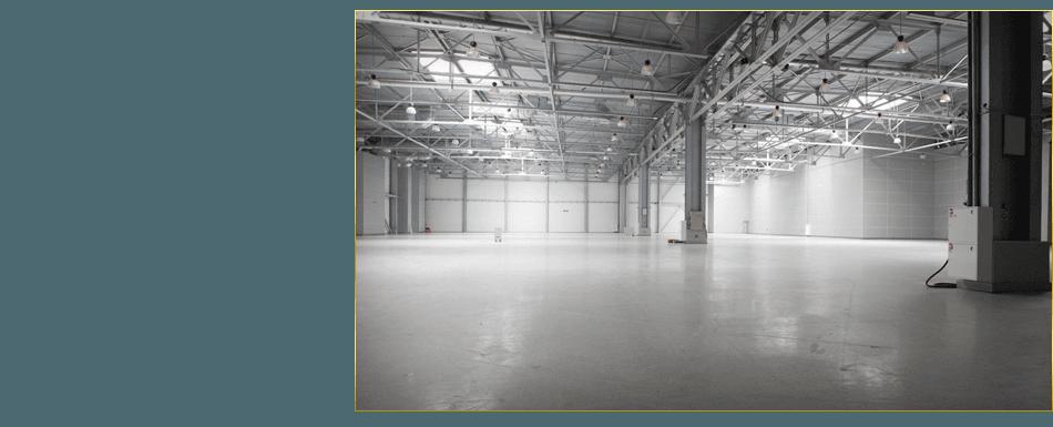 Commercial concrete flooring
