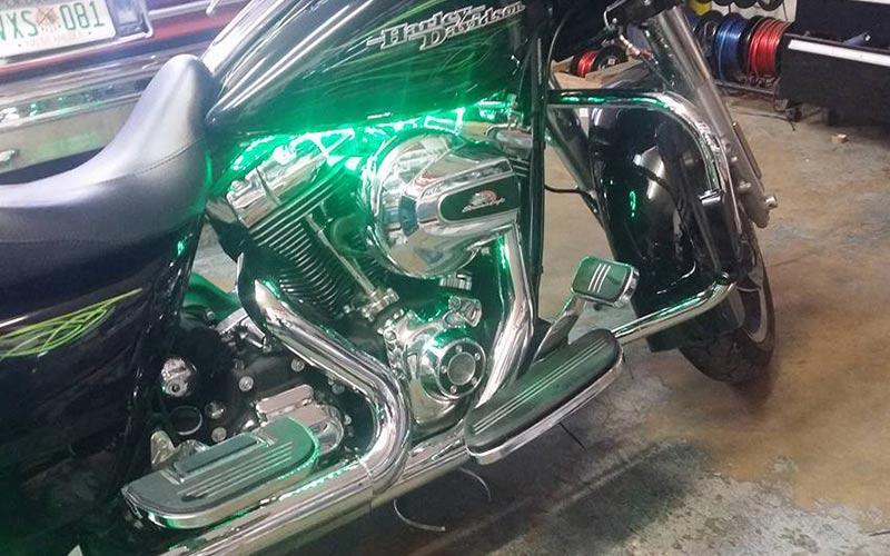 Motorbike lighting