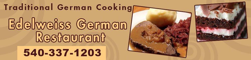 German Restaurant - Staunton, VA - Edelweiss German Restaurant