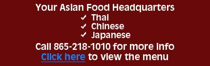 Kasumi & Thai Café - Asian Restaurant - Knoxville, TN