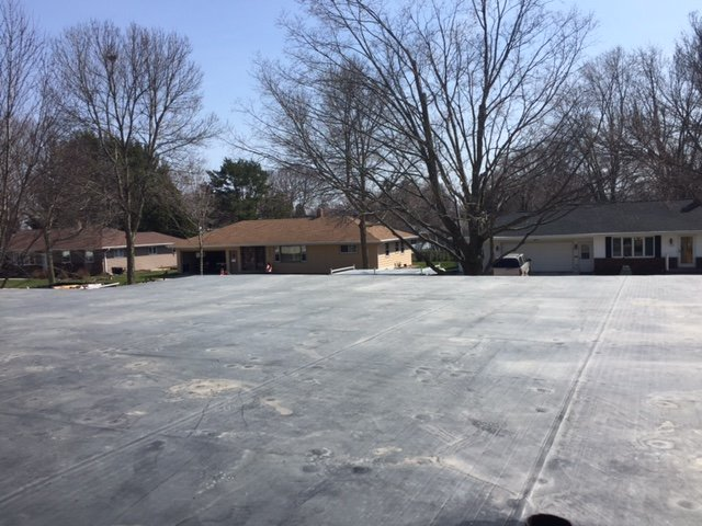 Concrete roofing