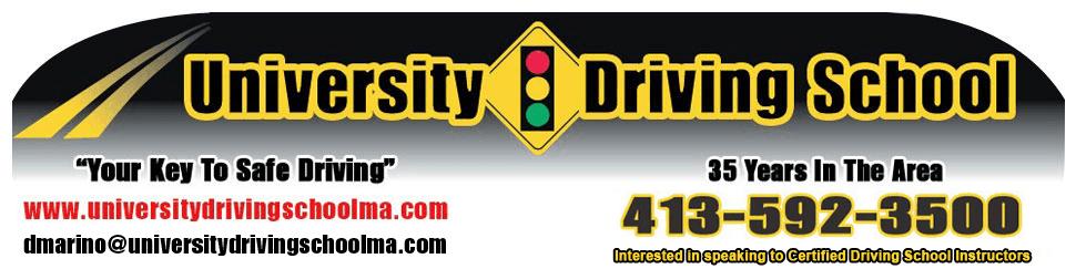 Driving test | Chicopee, MA | University Driving School | (413)592-3500