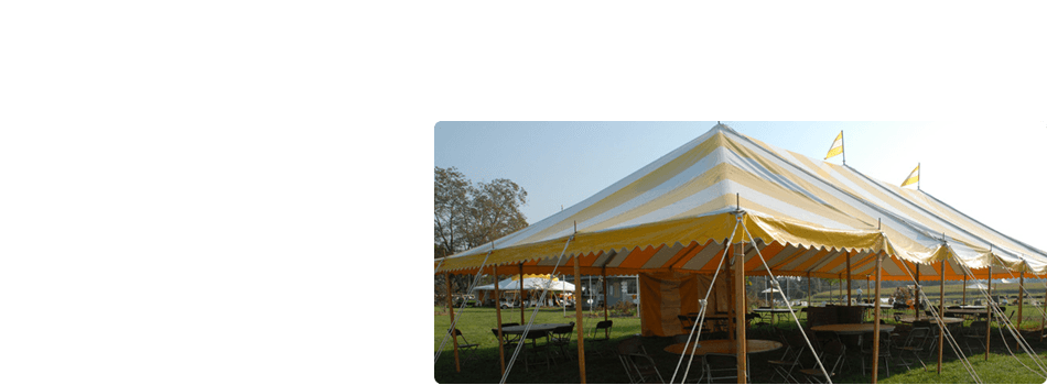 party tent rentals | Denmark, WI | Door County, WI | Rent-A-Tent LLC | 920-863-6829