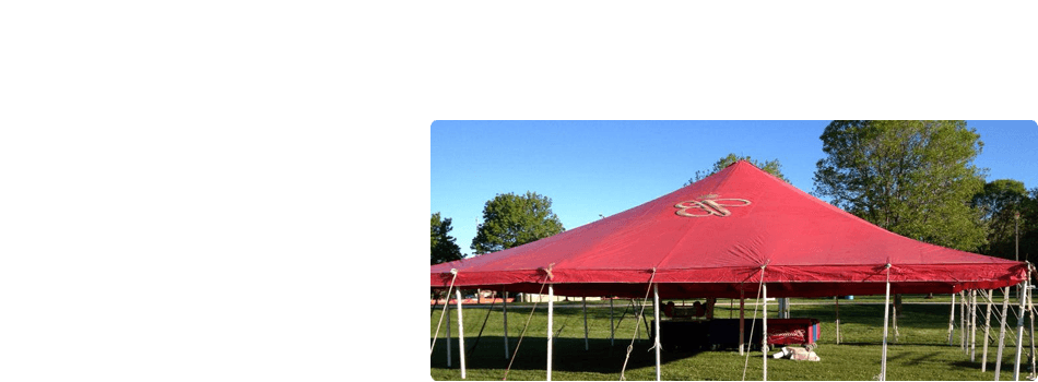 party tents | outdoor rentals | Denmark, WI | Rent-A-Tent LLC | 920-863-6829