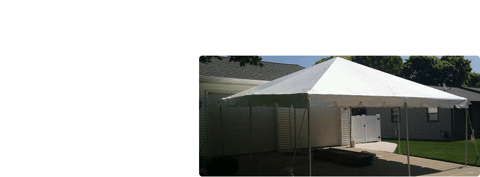 party tents | wedding tents | Denmark, WI | Rent-A-Tent LLC | 920-863-6829