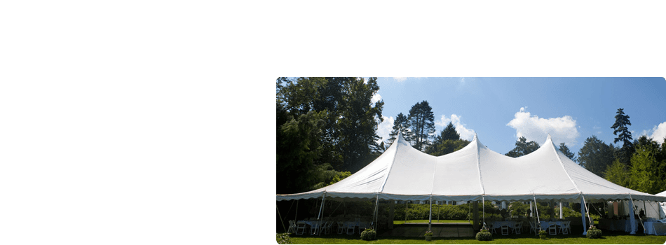 outdoor wedding tents tables chairs  | Denmark, WI | Appleton, WI | Rent-A-Tent LLC | 920-863-6829