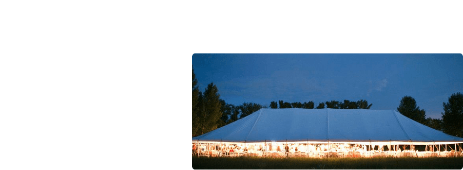 Wedding Tent Rentals Appleton Wi