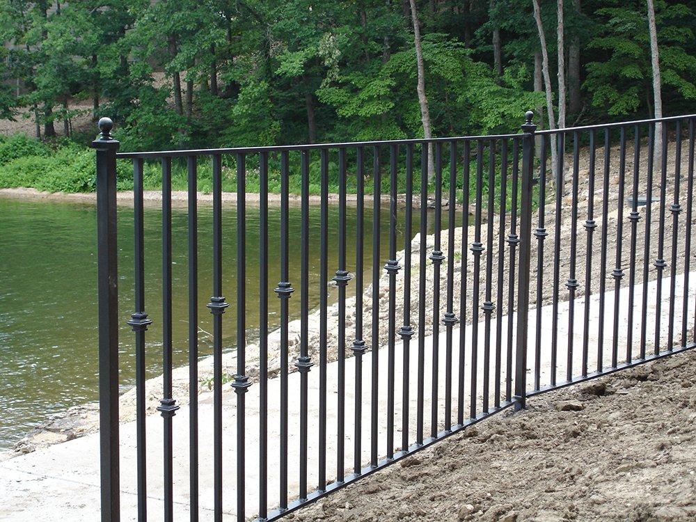 Bender ornamental custom iron fences omaha ne