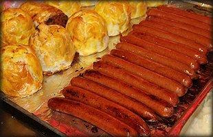 Tasty hotdogs