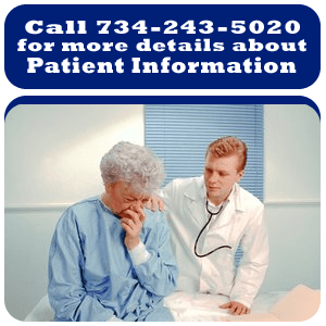 Chronic Sinusitis - Monroe, MI - Monroe Ear, Nose and Throat Associates - patient with the doctor - call 734-243-5020 for more details about patient information