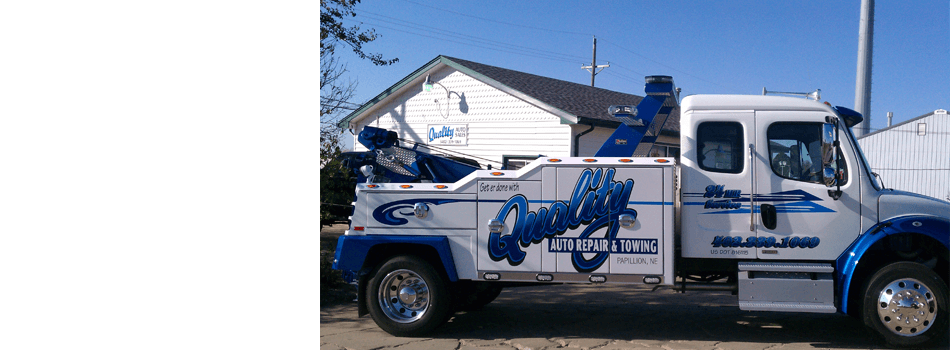 Towing Service | Omaha, NE | Quality Towing | 402-339-1069