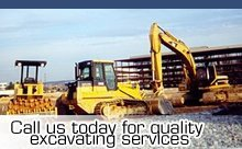 Excavating - Erie, MI - Great Lakes Excavating - Excavating