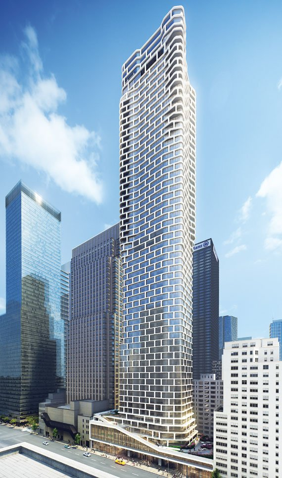 242 West 53rd St. 426 unit Mixed Use Tower