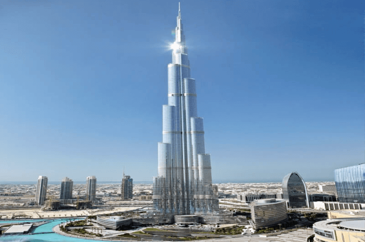 The Burj Khalifa The World's Tallest Building Dubai, United Arab Emirates