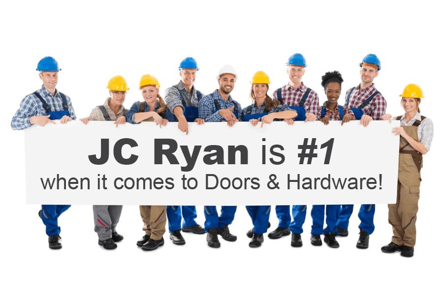 JC Ryan Number 1 sign