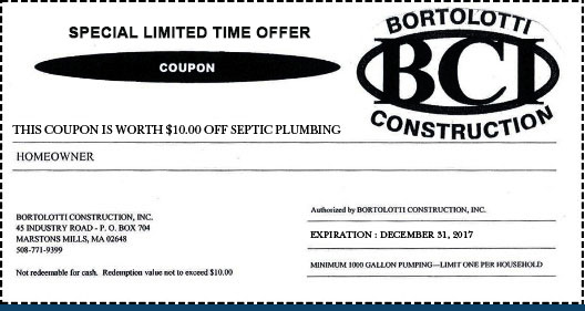 septic service coupon
