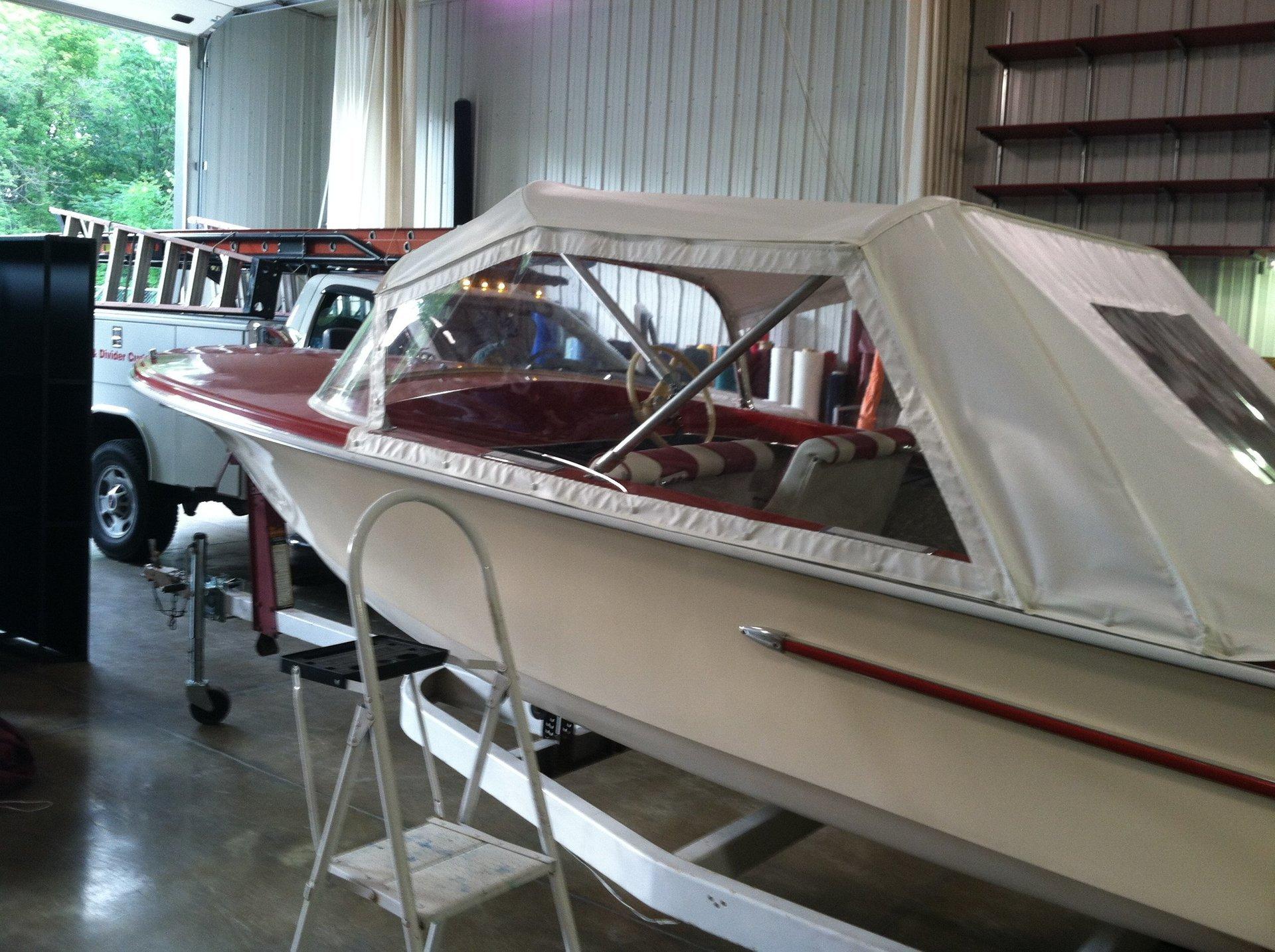 Marina Boat Cover