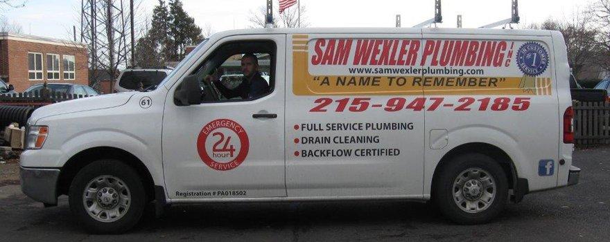 Sam Wexler Plumbing Inc Truck