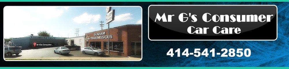 Auto Repair Shop - West Allis, WI - Mr G's Consumer Car Care