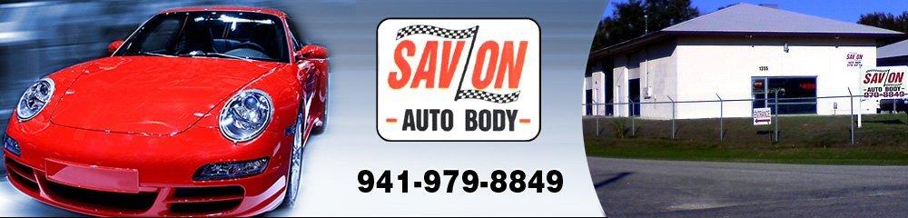 Auto Body Repair Port Charlotte, FL - Sav On Auto Body 941-979-8849