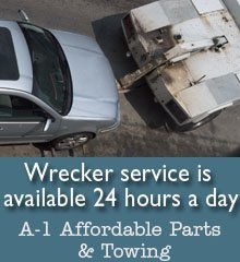 Towing Service - Neosho, MO - A-1 Affordable Parts & Towing
