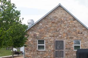 Brick house masonry