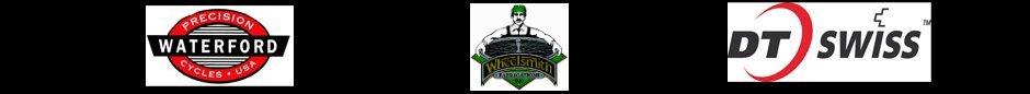 DT swiss, Waterford, wheelsmith logo