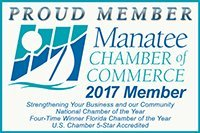 Proud Member - Manatee Chamber of Commerce