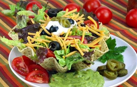 Healthy and freshly food