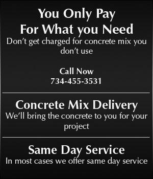 Commercial concrete - Plymouth, MI - Concrete To Go