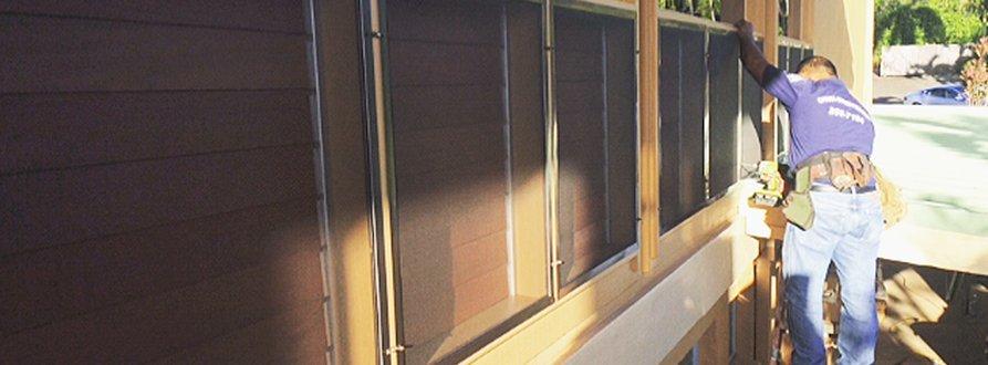 Door screen services