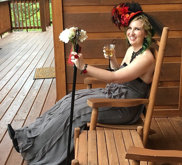 Brenna's steampunk wedding