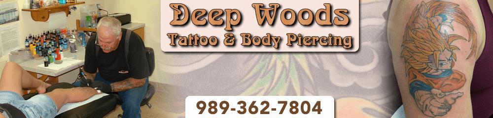Tattoo - Tawas City, MI - Deep Woods Tattoo & Body Piercing