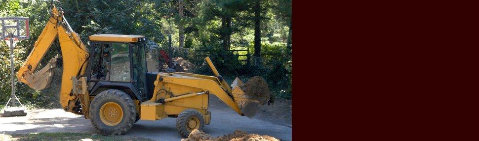 Excavating contrator