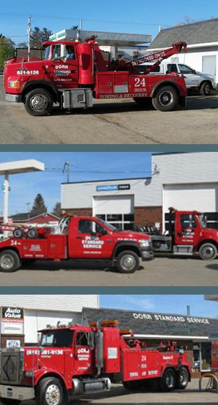 Towing Lockout Emergency Service - Dorr Standard Service - Auto Repair Shop
