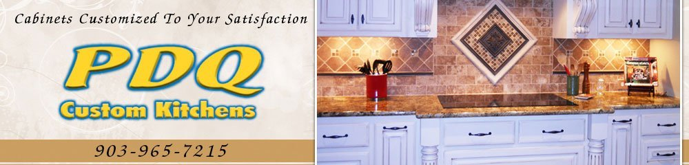 Kitchen Remodeling - Savoy, TX - PDQ Custom Kitchens