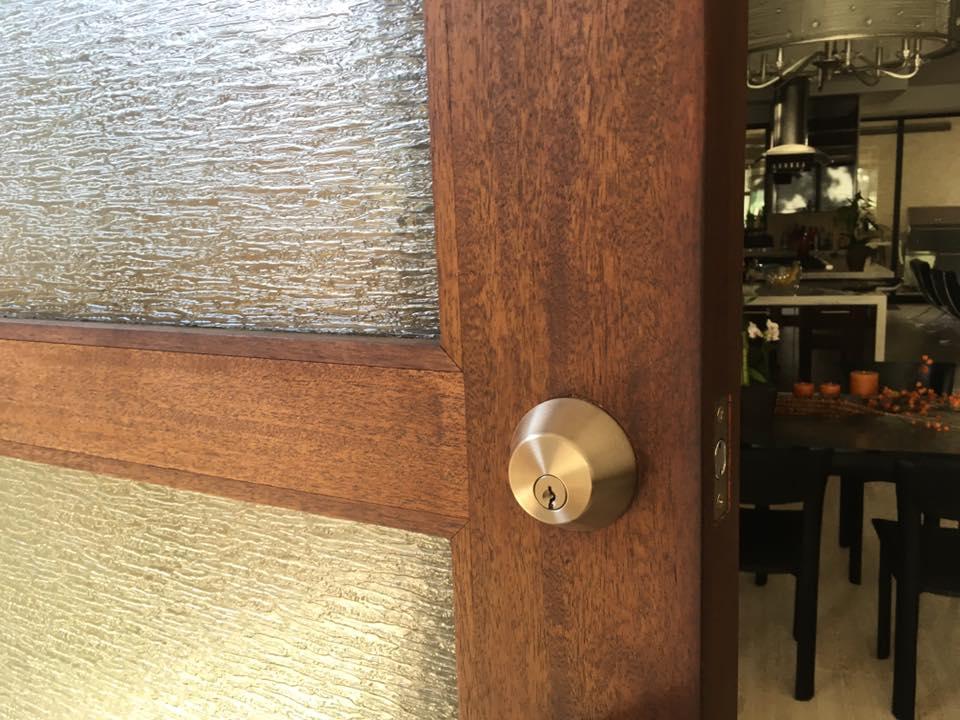 Door Exterior Deadbolt