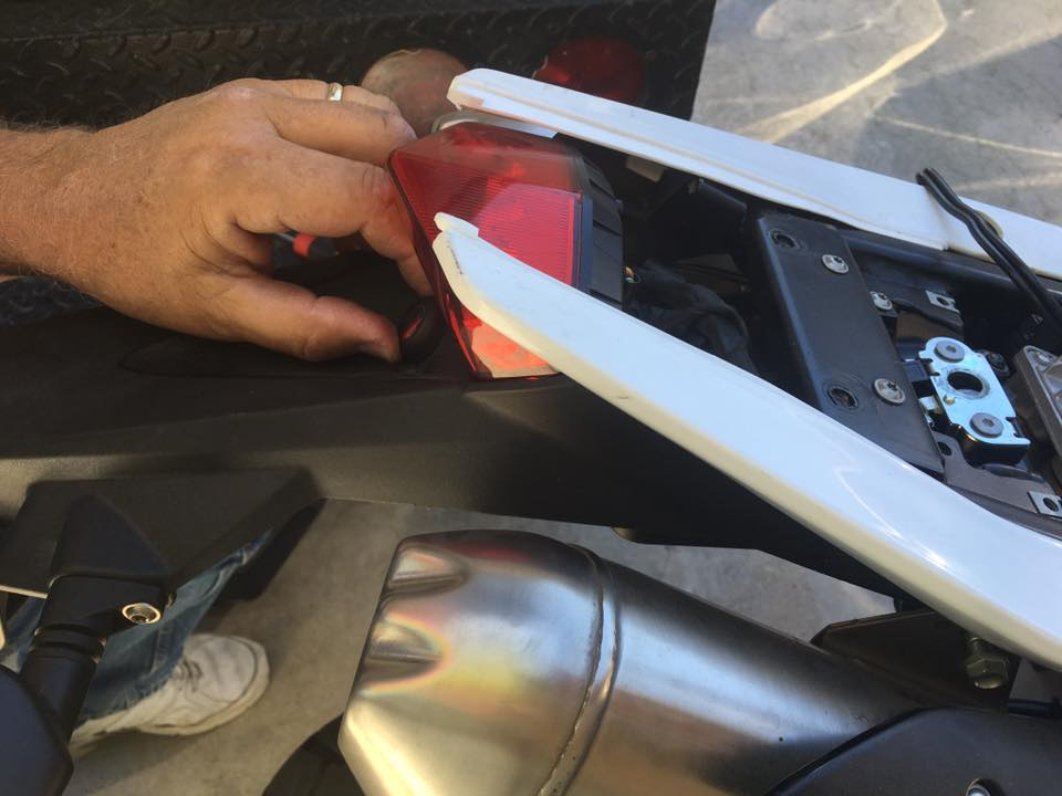 Motorcycle Seat Lock