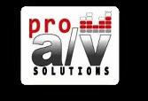 Pro A/V Solutions LLC - Logo