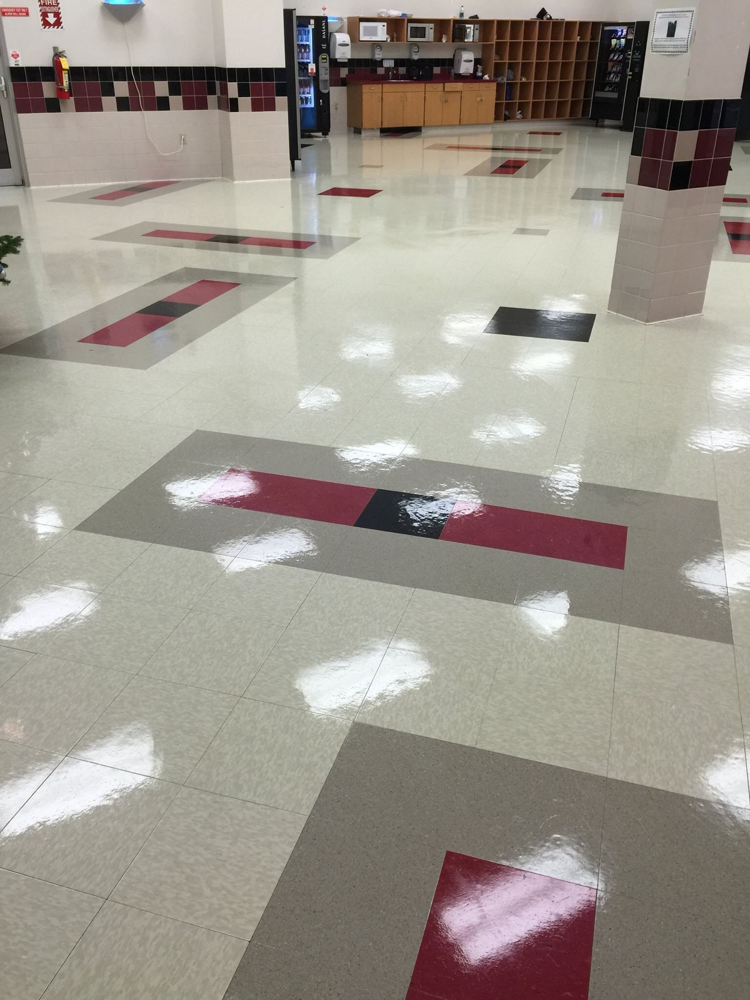 Tile cleaning maintenance